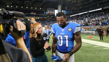 Interviewing Calvin Johnson