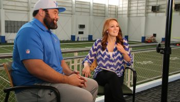 Sitting down with Haloti Ngata on his first day as a Lion