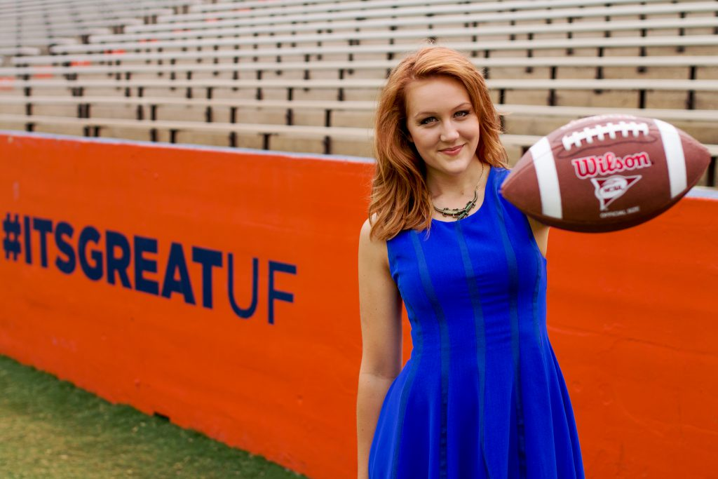 Tori Petry at Florida Field