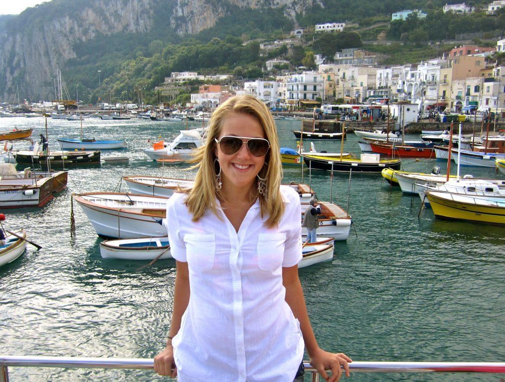 Tori in Capri