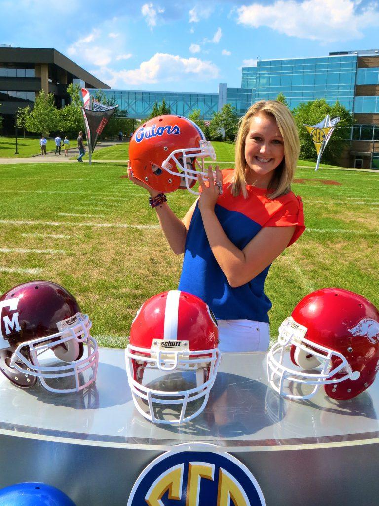 Tori Petry interned at ESPN