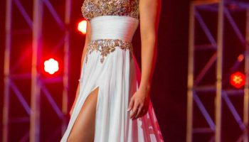 Tori Petry at Miss Florida USA 2014