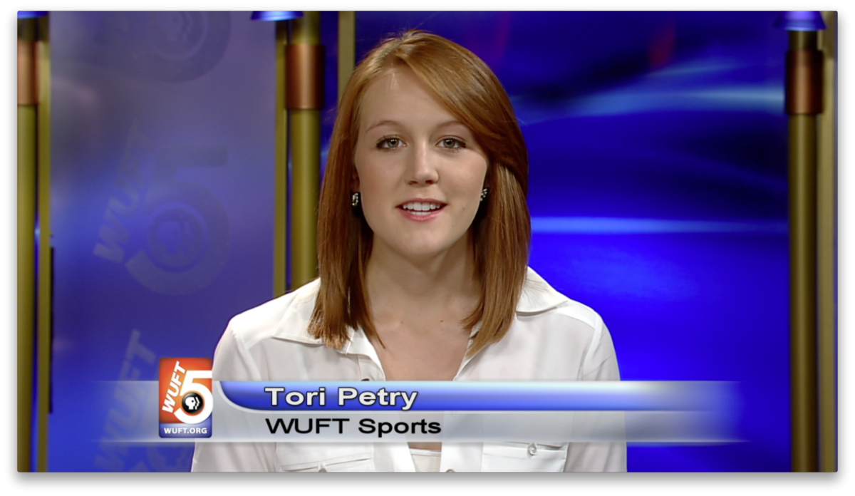WUFT-TV Sports Anchoring 2/19/13
