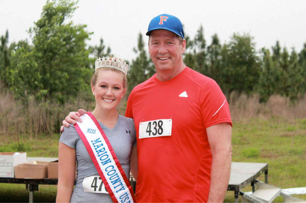 With Congressman Ted Yoho at the Helping Hands 5K