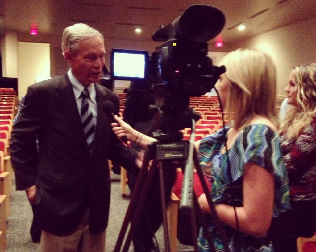 Interviewing former Florida governor Bobby MacKay
