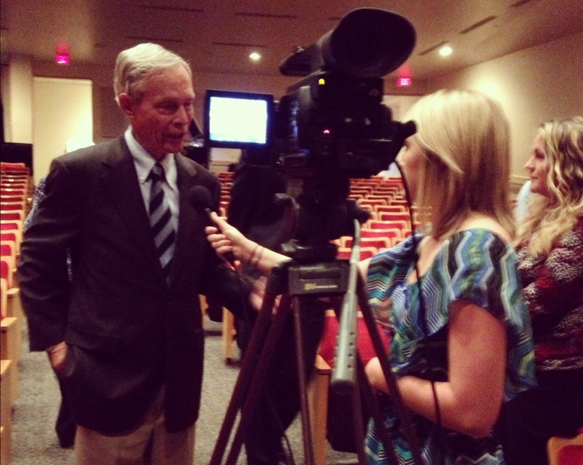 Tori interviews Former FL Governor Buddy MacKay