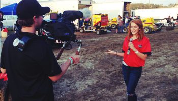 Tori Petry pit reports for the USAC races in Ocala in 2014