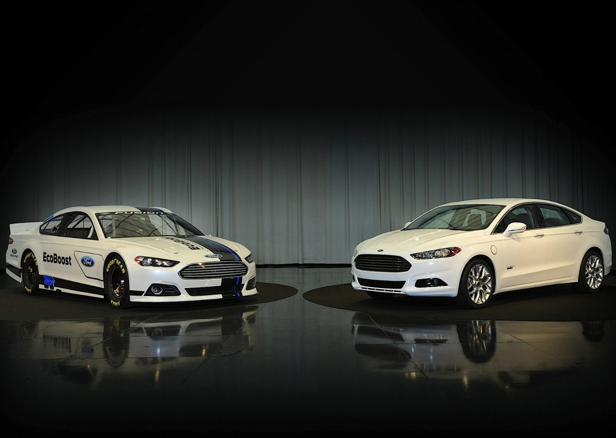 "2013 Ford puts the ""stock"" back in Stock Car Racing"