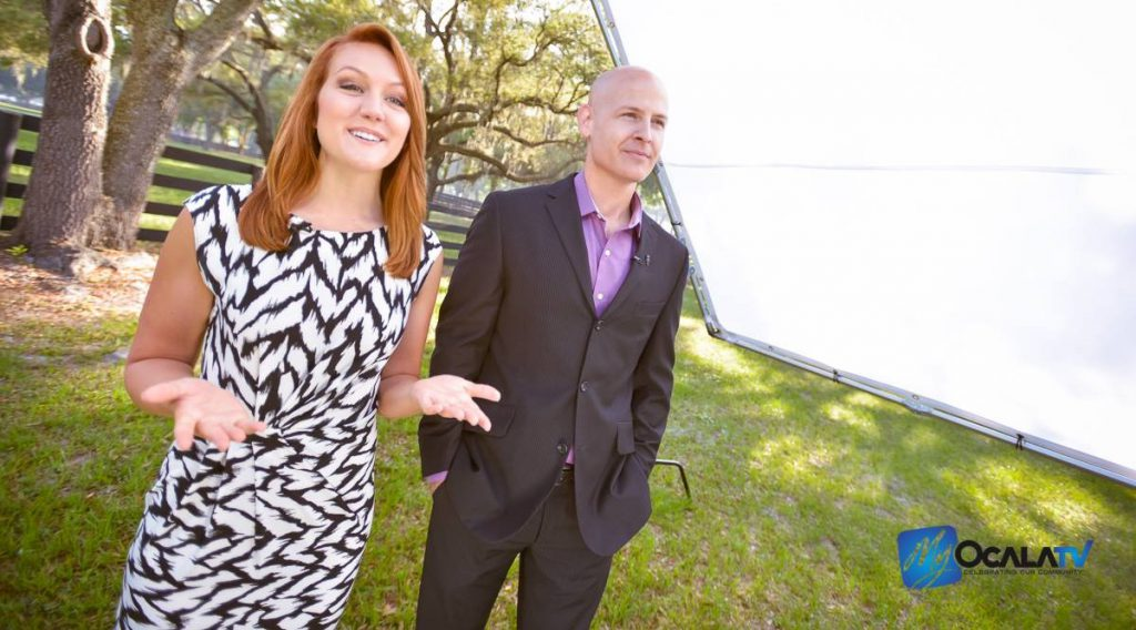 Tori Petry hosts the premier episode of My Ocala TV